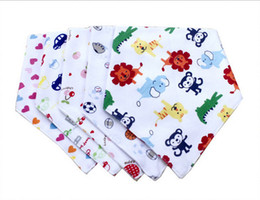 Wholesale Baby Bibs Feeding Clear Bandana Scarf Cotton Triangle Infant Burp Cloths Good Quality and Affordable Price BB116
