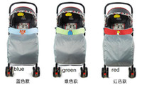 blue, green, red bassinet baby strollers - Baby carriage wind cap Stroller Footmuff quilted windshield The baby tricycle cart hurricane Bassinet quilted shield