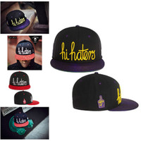 Wholesale Black purple hi hater cayler amp sons snapback caps baseball mitchell amp ness Snapback Hats sports teams fifty fitted adjustable caps