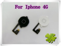 Wholesale For IPhone G Home Button Key Home Flex Cable Assembly Complete OK Keypad Flat Function Keys Ribbon Back Key Exit Flaxy