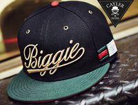 Ball Cap Black Man Biggie Cayler & Sons snapback hats balck green autumn winter Hip-Hop cotton adjustable hats for men or women mix order free shipping ems dhl