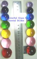 Sexy Glass G Spot Penis Crystal Dildos Glass Anal Plug Toy F...