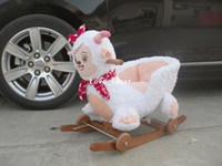 Wholesale Lambling rocking chair trojan wood stroller walker