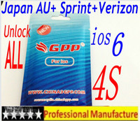 Wholesale Genuine GPP original turbo Sim Unlock ALL Phone S iphone4s ios ios ios6 CDMA GSM WCDMA japan AU Sprint Verizon t mobile