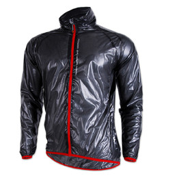 New Cycling Windbreaker Wind-cheaters Raincoat in High Quality Black Bike Raincoat