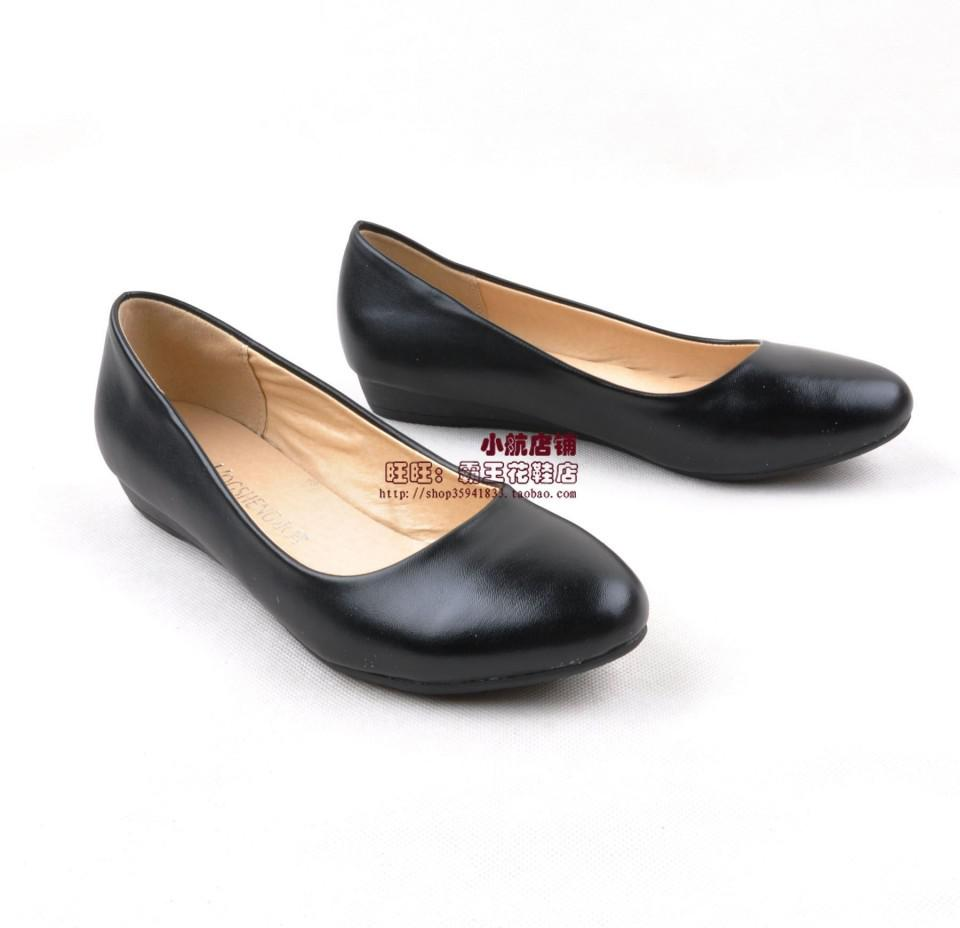 sepatuolahragaa black flat work shoes images