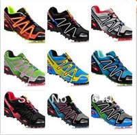 Wholesale new arrival cheap Salomon men running shoes outdoor shoes ultralight sport air mesh upper casual france walking shoes dropship factory