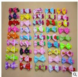 Wholesale Korean baby girls cute bow Bangs clip hair headwear hairpin girl s Hair Accessories baby hairpin