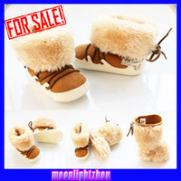 Wholesale Mauri new boys and girls snow boots warm shoes Christmas snow boots X