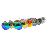 Wholesale 10 New arrivals Fashion Reflective Anti Reflective glasses Sunglasses outdoor sports Classic goggles