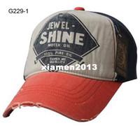 Wholesale 2013 Cool Design Vintage Distressed Hat Block Colors Men Flex Fit Camo Caps Baseball Hats Mens Sport Cap Flexfit Women Headwear