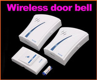 Wholesale 32 Musics Digital Wireless Remote Control Doorbell Door Bell receivesrs emitter in retail package