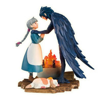 action moves - Hayao Miyazaki Howl s Moving Castle PVC Action Figure Toy MHFG009