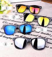 Wholesale 50 New arrivals Fashion Cool Anti Reflective Unisex glasses Sunglasses Outdoor sports driving