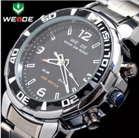 Sport beautiful sports watches - WEIDE843 camouflage diving activity multi function JunBiao led strip watches for men with Beautiful box