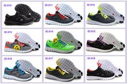 La conception de chaussures de couleur à vendre-32 couleurs Marque Free Run 2 + Design course Chaussures Chaussures pour hommes nouveaux avec le tag vendeur pas cher usine