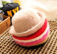 Girl Winter Fedora Fashion Candy Color Cap Beanie Hat Caps Baby Cute Princess Hats Bucket Hat Children's Autumn And Winter Caps Kids Girls Top Hat Fedora Hat