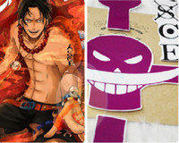Cheap Costume Accessories One Piece ACE Tattoo Sticker Best sticker Free Size One Piece ACE Tattoo