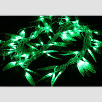 Christmas willow tree - LED lantern string lights flashing willow leaves backdrop of high quality brick pillars of ancient decorative garden lights