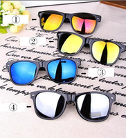 Wholesale New arrivals Fashion Reflective Anti Reflective mirror lenses Unisex glasses Sunglasses Outdoor