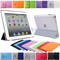 Folding Folio Case apple ipad - Ultra Thin Magnetic Smart Case Cover Back Case For New Apple iPad iPad HX6