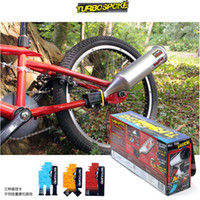 ireland - turbospoke the Bicycle Exhaust System Ireland motorized bicycle turbo six kinds of motorcycle exhaust sound Wild sound EMS free TV248