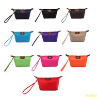 Wholesale New Fashion Hot colors Women Lady Girl Reto Waterproof Cosmetic Make Up Sorage Bag Purse
