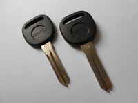 Wholesale GMC Transponder Car Key Blank No Button Auto Key shell Cover Fob Case