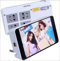 Wholesale IX frame strip with triple lightning protection the double USB charging function