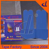 Wholesale EASY USE Pre Cut Waist Kinesio tape d Brand Producer Lumbar Muscle Strain waist pain waist support