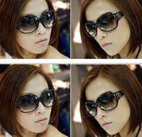 Wholesale 10 New arrivals Fashion Women Sunglasses lady Anti UV Sunglasses Outdoor