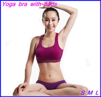 Wholesale New Women Seamless One Piece Sport Bra Padded Yoga Bra Gym Jogging Running Sport Wear