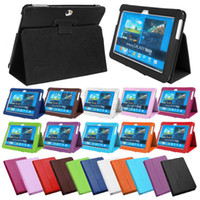 Wholesale Magnetic PU Leather Case Cover Stand For Samsung Galaxy Note N8000 Tablet