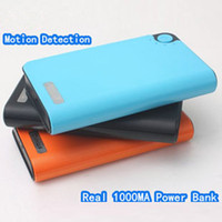 1080P/720P 4032*3024 H.264 New 1080P H.264 1000mAh Mobile Power Bank Camera DVR Mini Hidden Camera Video Recorder, with Motion Detection Function, Support Max 32GB