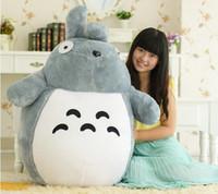 big christmas presents - cm Totoro plush toys small cat dolls girls birthday present Christmas tuba
