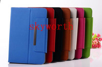Wholesale 7 Universal PU Leather Case Flip Cover Adjustable Case for Samsung Galaxy tab Q88 Android Tablet PC MID