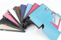 Leather For Samsung For Christmas Brand New Original official Flip back battery protective cover case PU leather case for Samsung Galaxy note3 note 3 N9000