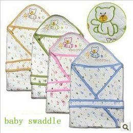 Wholesale Baby Boys Girls Blanket Cotton Sleeping Bag With Cap Best Gift Sleeping Sackbaby Swaddle BB118