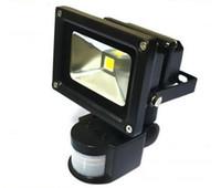 Wholesale W W WNew PIR Motion sensor LED Flood light Induction Sense lamp FloodLight V