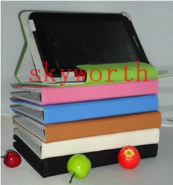 Wholesale Q88 Case Inch inch inch PU Leather Case Protector Cover Stand for Haipad Allwinner A13 Q8 Dual Camera Tablet PC
