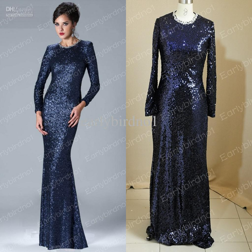 Navy Blue Party Dresses Sleeves | Dress images