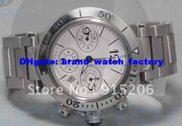Wholesale PASHA SEATIMER WATCH CHRONOGRAPH Date STAINLESS STEEL Stainless Steel brand watches men watch quartz japan watches
