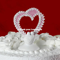 Wholesale quot Kyoto Love quot Sakura Design Wedding Cake Topper In Resin Wedding Accessories Wedding Decoration