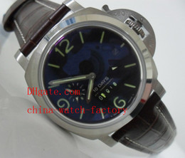 Wholesale Luxury High Quality mm GMT Days Power Reserve pan Automatic Mens Watch Men s Watches