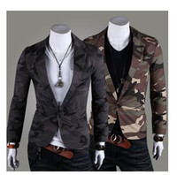 Wholesale Stylish Mens suit NEW Coat Jacket The stylish camouflage military
