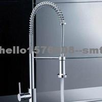 Wholesale Single Handle Chrome Centerset Spring Kitchen Faucet