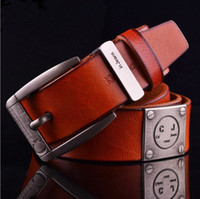 Wholesale Men Belts Genuine Leather Belt Men Brand Genuine Leather Belts