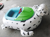 Wholesale Inflatable cute bumper boat for water park