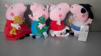 22CM Peppa Pig George Pig Ballerina Peppa Pirates george Plu...
