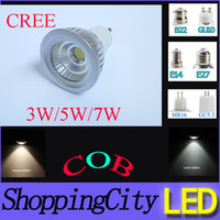 hot sale CREE MR16 GU10 E14 E27 GU5. 3 E26 COB dimmable LED s...